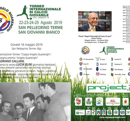 Presentazione Tredicesima edizione del Torneo Coppa Angelo Quarenghi 2018