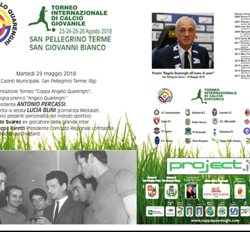 Serata Presentazione Dodicesima edizione del Torneo Coppa Angelo Quarenghi