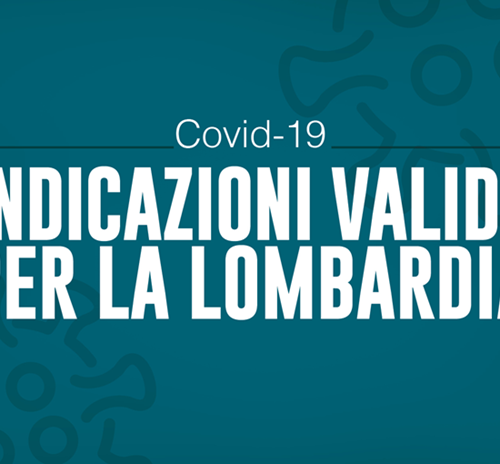 Ordinanza Regione Lombardia