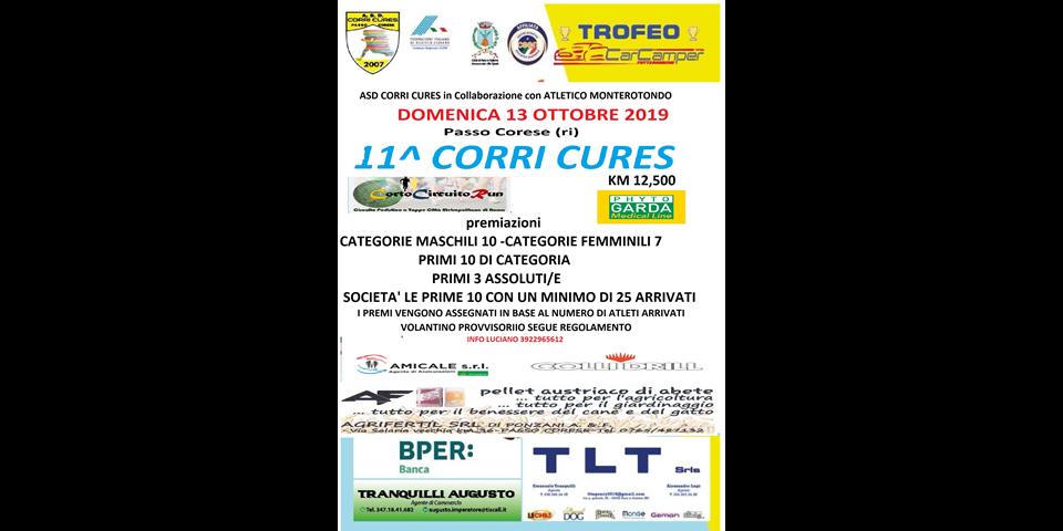 11^ CORRI CURES