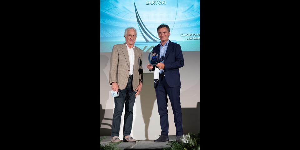 Giacinto Facchinetti Awards, premiato Giovanni Sartori