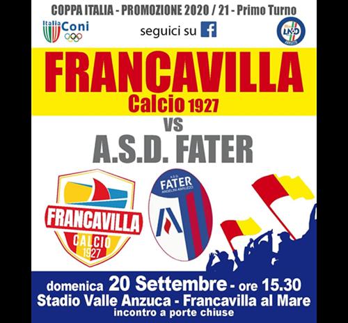Francavilla Calcio 1927 vs. ASD Fater