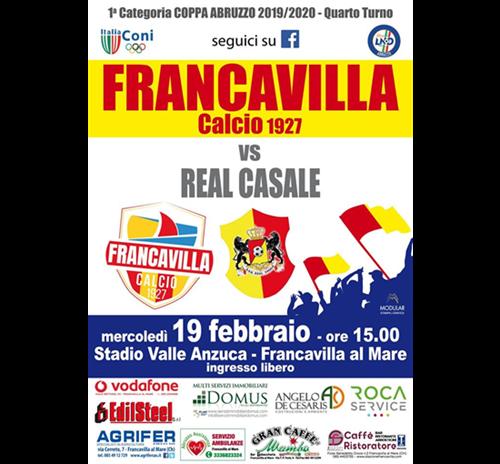 Francavilla Calcio Vs Real Casale