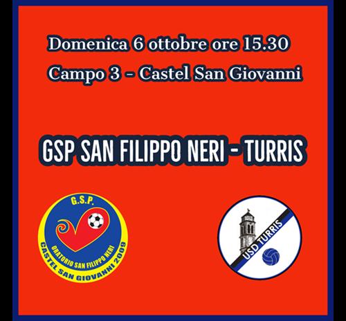 GSP San Filippo Neri - Turris 2 -1