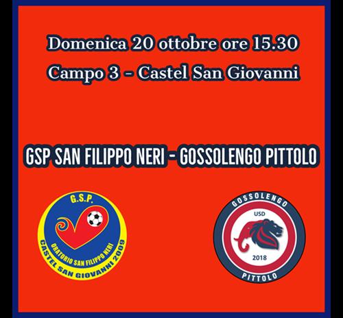 GSP San Filippo Neri - Gossolengo Pittolo 4-3