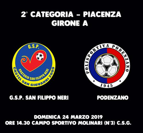 G.S.P. SAN FILIPPO NERI  -  PODENZANO 5-2
