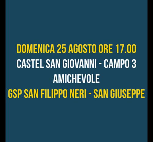 Amichevole GSP San Filippo Neri - San Giuseppe
