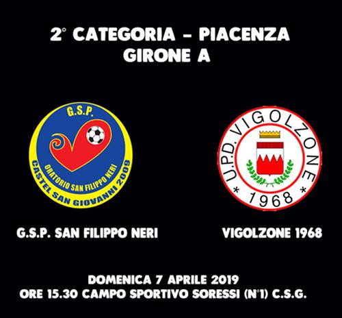 G.S.P. SAN FILIPPO NERI - VIGOLZONE 1968