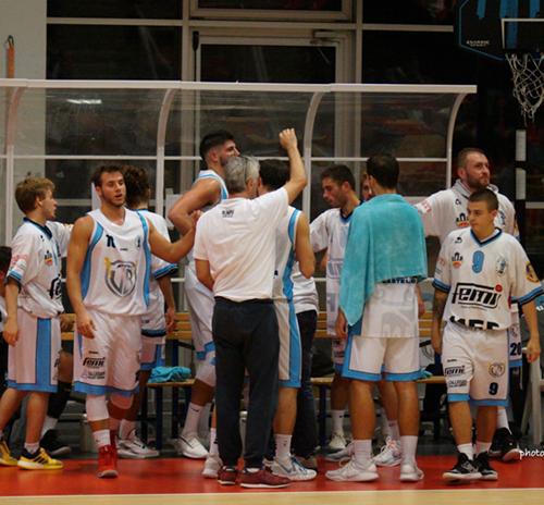 La VB Olimpia perde contro il Basket 2000 RE