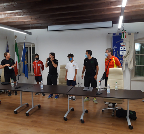 Meeting tra Pordenone Calcio Pro Romans Medea