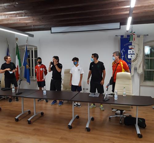 Meeting tra Pordenone Calcio Pro Romans Medea