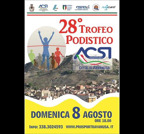 28° Trofeo podistico ACSI Città di Ravanusa