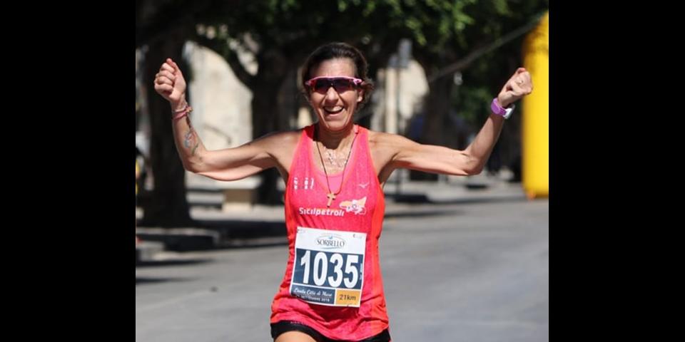 Alla nostra Liliana la maratonina di Licata