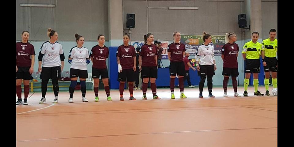 SALERNITANA KO A CERCOLA: L'AFRAGIRL SI IMPONE PER 3-0