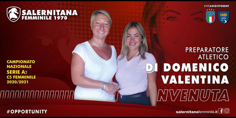 """Di Domenico nuova preparatrice atletica: """"Sarà una bella sfida"""""""