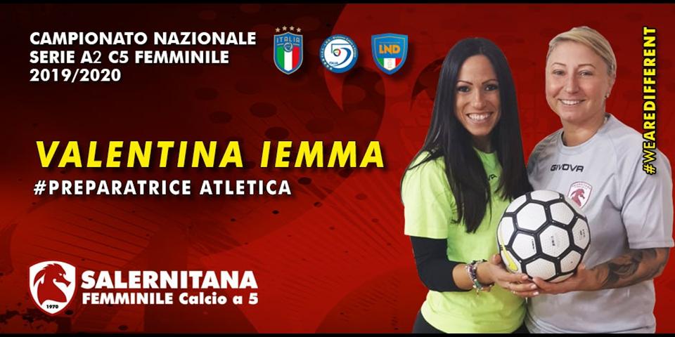 Innesto di spessore per ampliare lo staff tecnico: Iemma è la nuova preparatrice atletica
