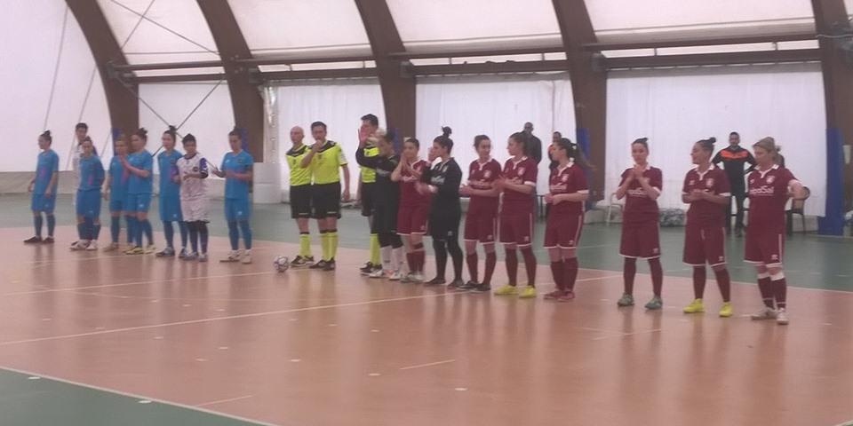 COMUNICATO STAMPA - UNICUSANO TIVOLI-SALERNITANA FEMMINILE