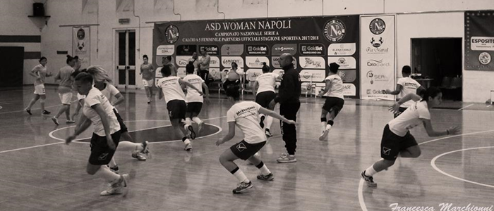Woman Napoli-SALERNITANA FEMMINILE - 8a Giornata SERIE A2 - GIRONE D (05/11/2017)