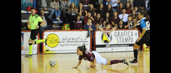 Salernitana-Prog. Sarno Futsal - 9a giornata di campionato Serie A2 Femminile girone D (01/12/2019)