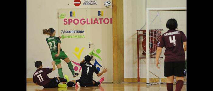 Salernitana - Futsal Irpinia Femminile - 8a giornata Campionato Serie A2 Girone D (24/11/2019)