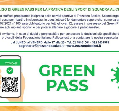 AGGIORNAMENTI GREEN PASS