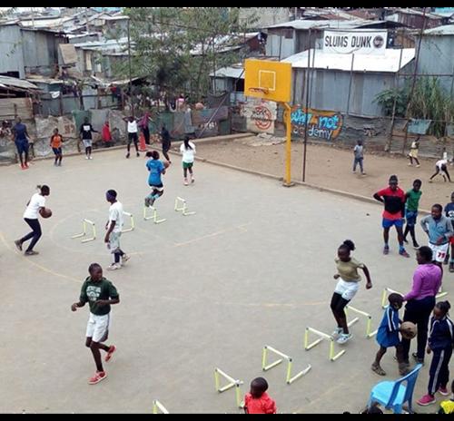 Trezzano Basket e Slums Dunk Onlus