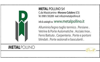 Infissi ed opere in Ferro METAL POLLINO