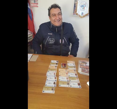 'U.S.D. Geppino Netti è lieta di annunciare il rinnovo dell'allenatore Martino Antonio
