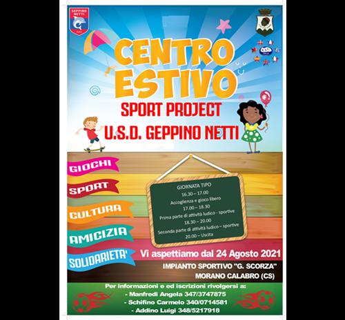 Centro Estivo Sport Project U.S.D. Geppino Netti