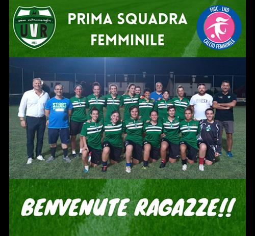 ARRIVA IL CALCIO FEMMINILE!