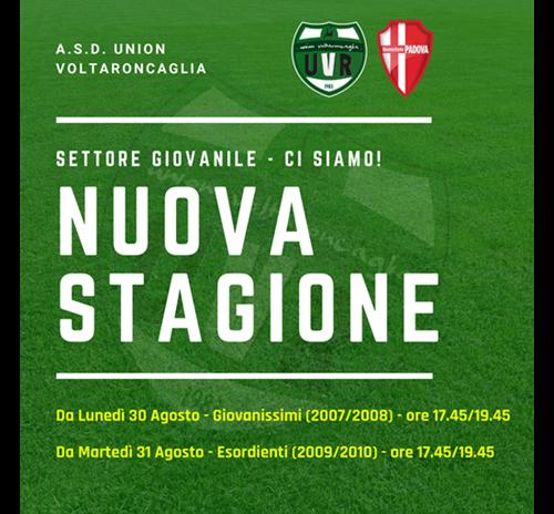 SETTORE GIOVANILE - STAGIONE 2021/22