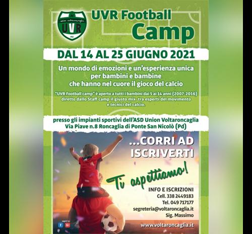 UVR Football Camp 2021